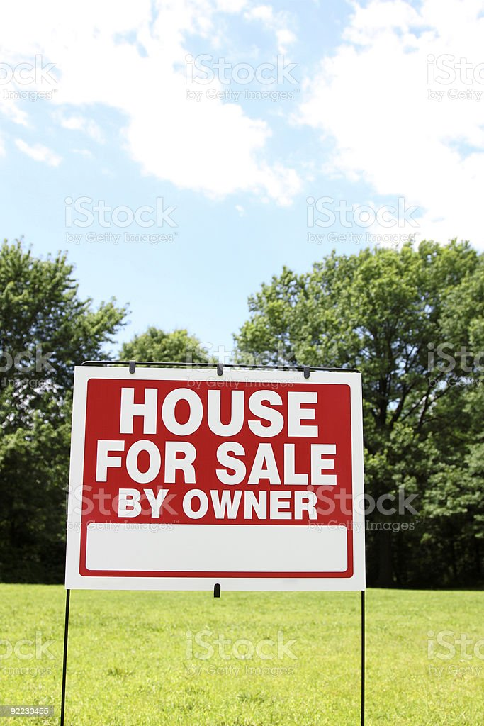 """""""House For Sale"""" royalty-free stock photo"""