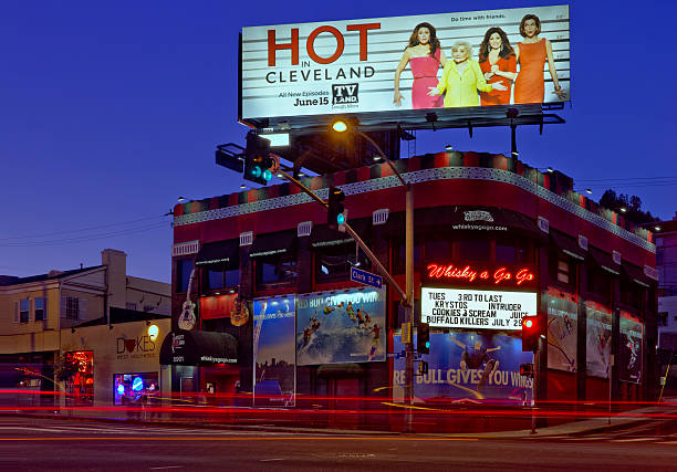 """The Whiskey"" on the Sunset Strip in Los Angeles"