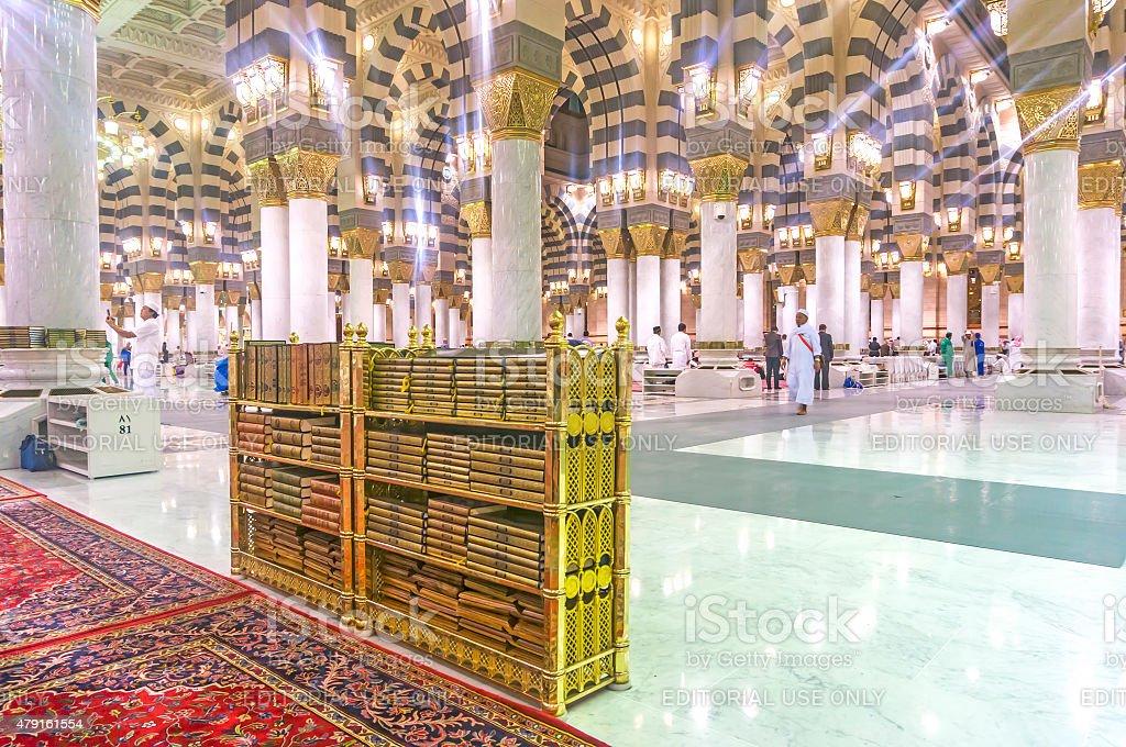 Quran rack stock photo
