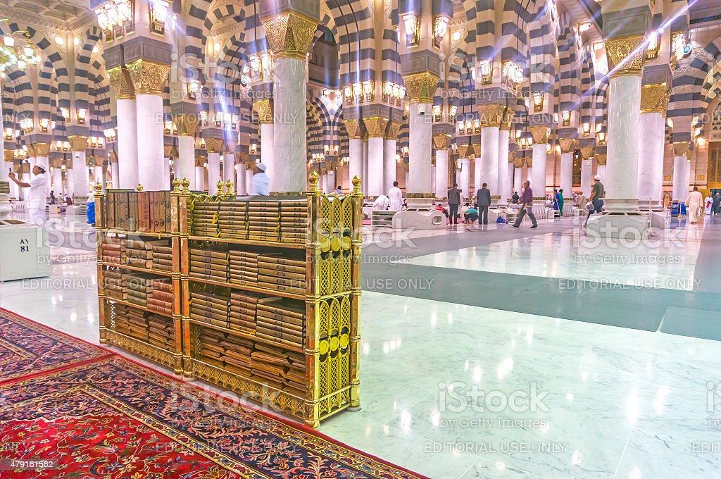 Quran rack. stock photo