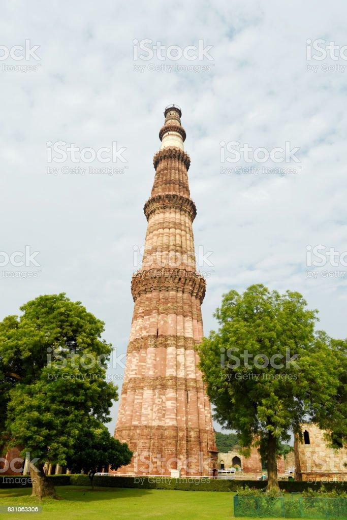 Qutub Minar, New Delhi stock photo