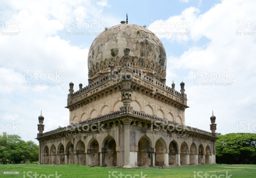 Qutub Shahi Tombs stock photo