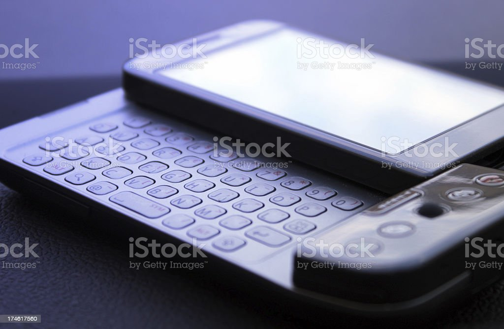 qwerty keyboard royalty-free stock photo