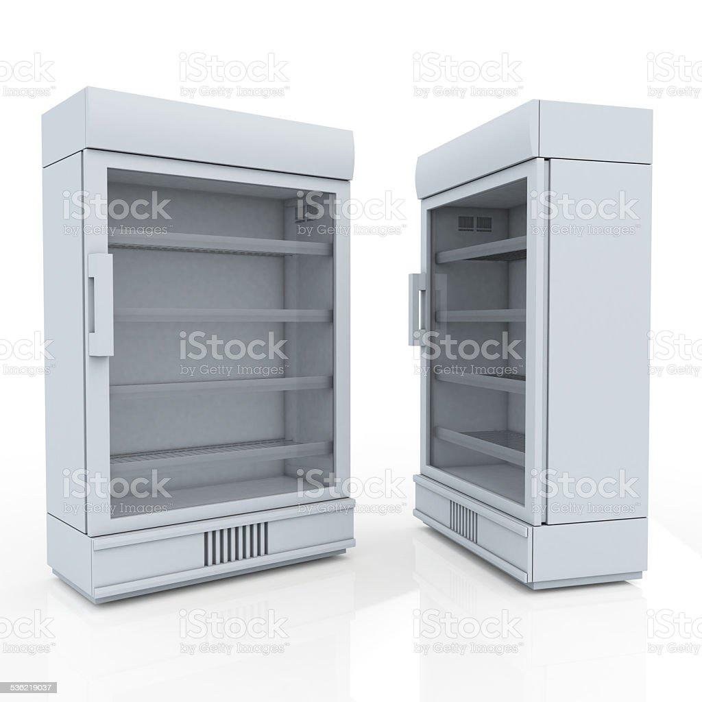 R Kühlschrank Für Getränke Produkte Oder Getränke In Isoliert ...