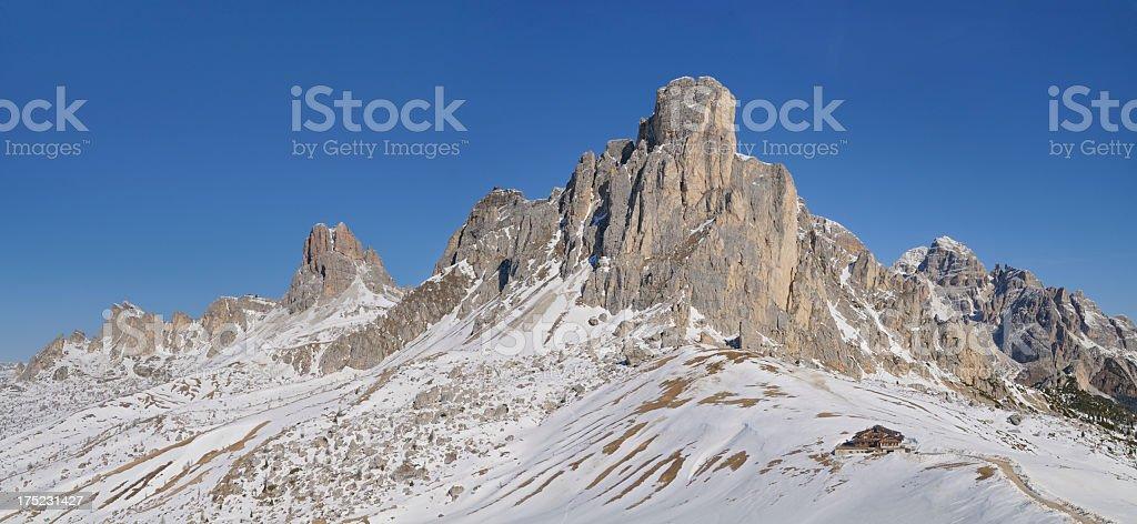 Ra Gusela (Dolomites - Italy) stock photo