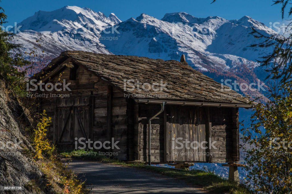 raaft,ausserberg,valais,swiss royalty-free stock photo