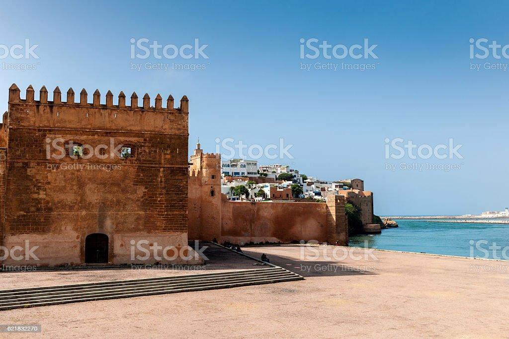 Rabat Historical Medina,  Kasbah of the Udayas ,Rabat ,Morocco stock photo