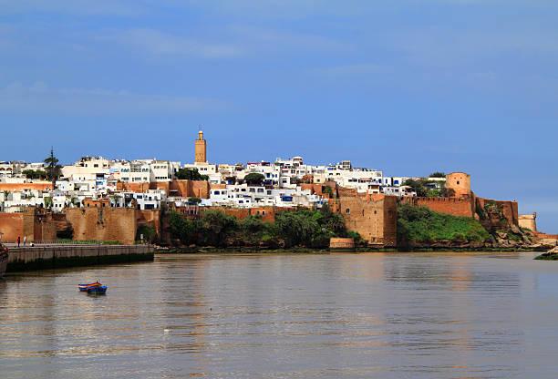 rabat historical medina, morocco. - rabat marocko bildbanksfoton och bilder