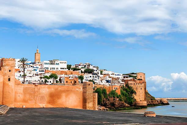 rabat historical medina, morocco - kasbah bildbanksfoton och bilder
