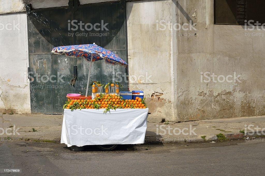 Rabat Orange Vendor royalty-free stock photo