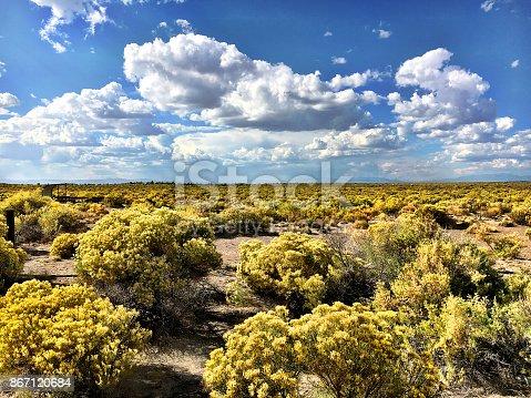 The high altitude San Luis Valley in southern Colorado.