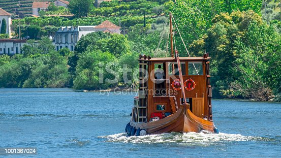 Rabelo boat on Douro River