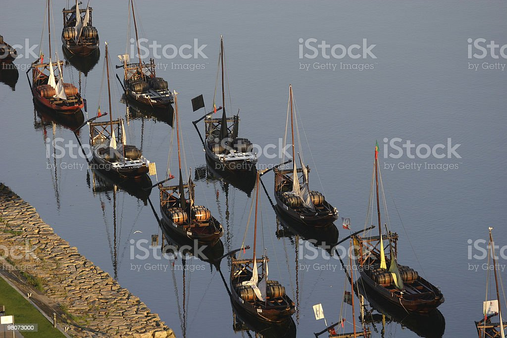 Rabelos Boat royalty-free stock photo