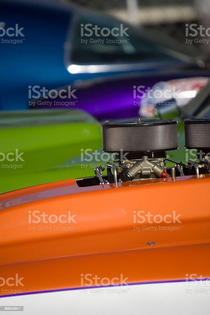Race Car Engine royalty-free stock photo