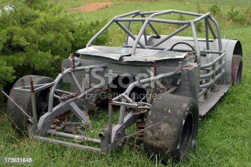 Race Car Frame Stock Photo & More Pictures of Cage | iStock