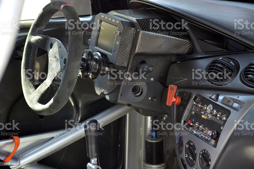Race Car Interior Stock Photo More Pictures Of 2015 Istock