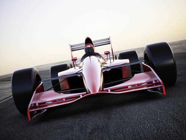 carreras de coches de carrera de una canción vista de frente - irl indycar series fotografías e imágenes de stock