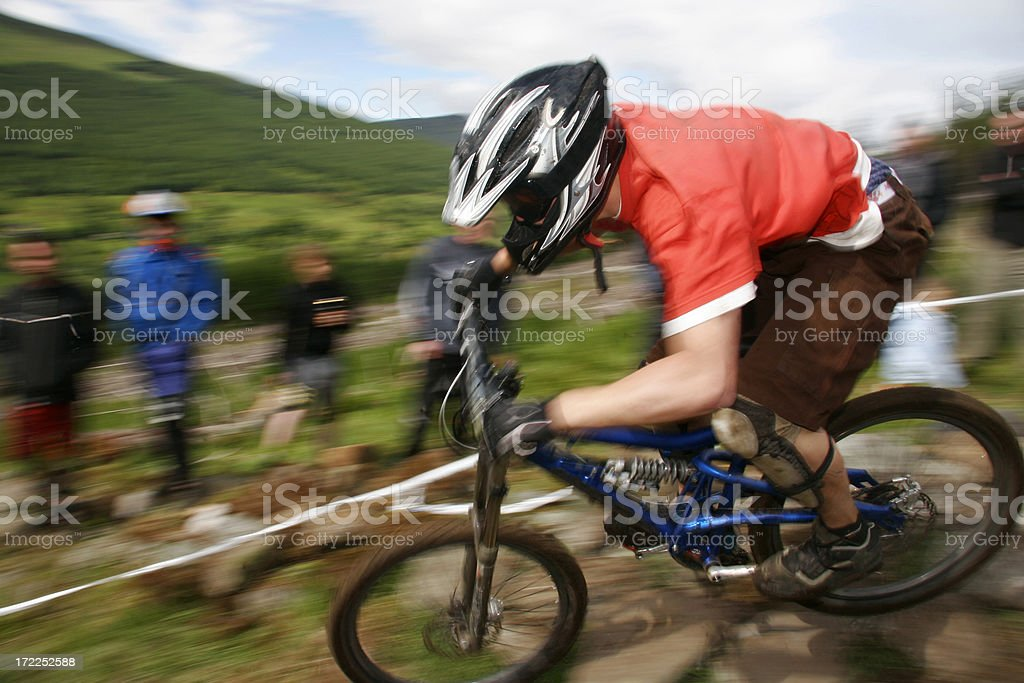 Race day royalty-free stock photo