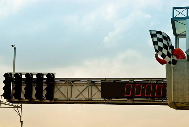 Race over stock photo
