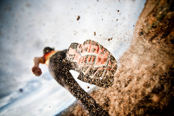 race - obstacle run stockfoto's en -beelden