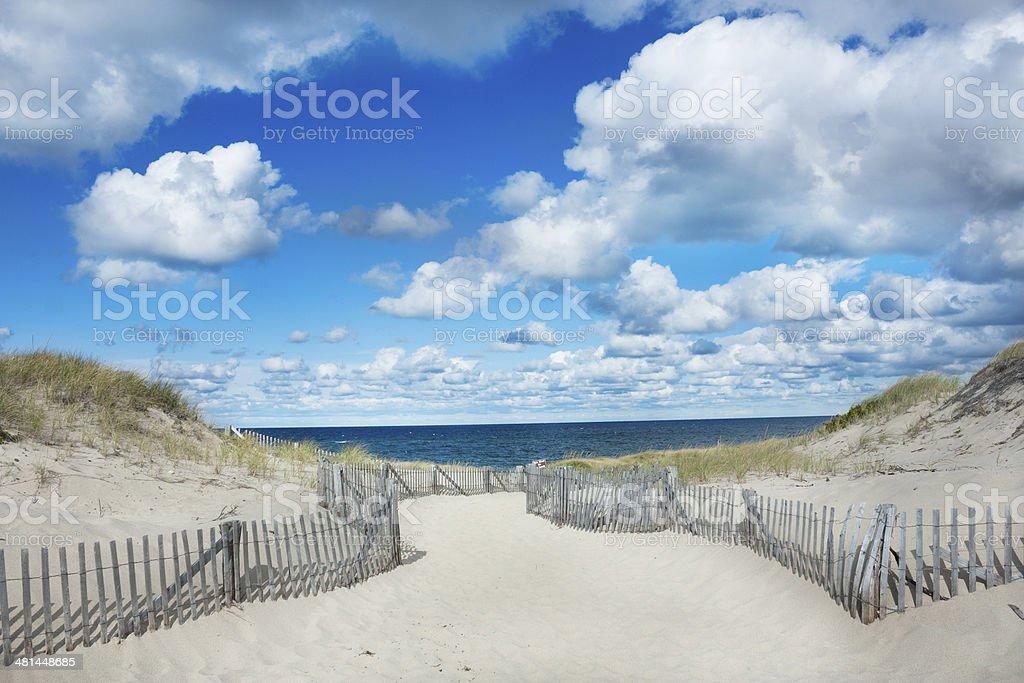 Race Point Beach, Provincetown Massachusetts stock photo