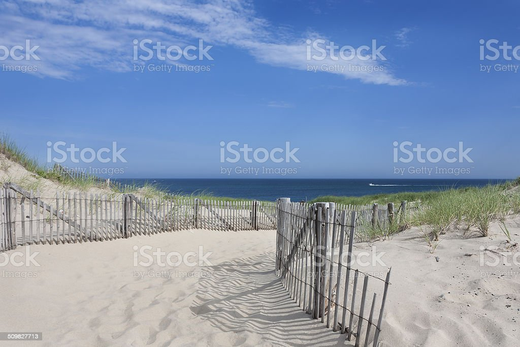 Race Point, Provincetown, MA stock photo