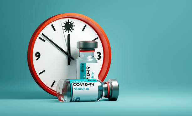 Race To Find A Covid-19 Vaccine stock photo