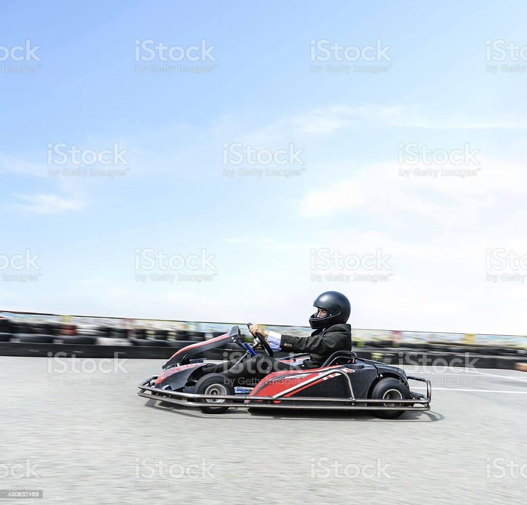 Race to first place royalty-free stock photo