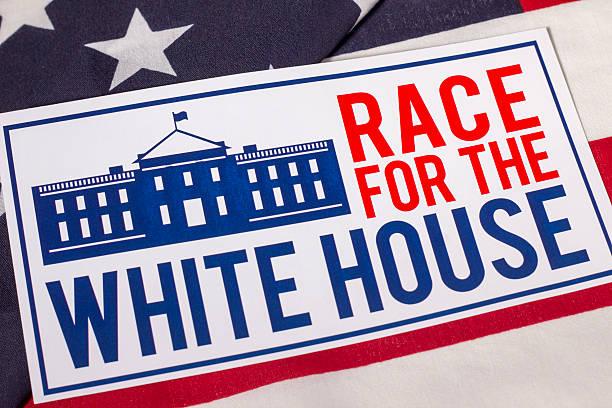 гонки на белый дом президентские выборы - выборы президента стоковые фото и изображения