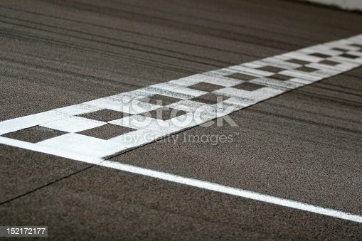 Finish Line Auto >> Race Track Start And Finish Line Stock Photo & More Pictures of Asphalt | iStock