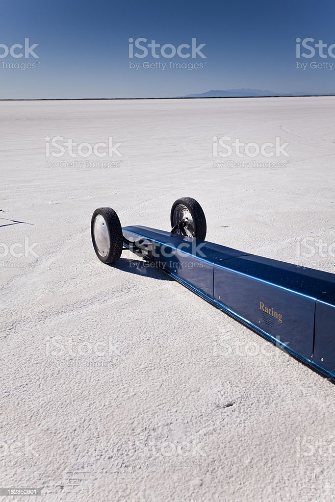 Race vehicle tire stock photo