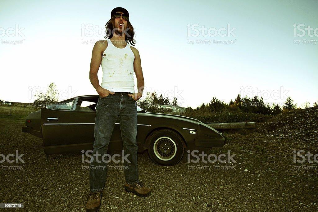 racecar driver royalty-free stock photo