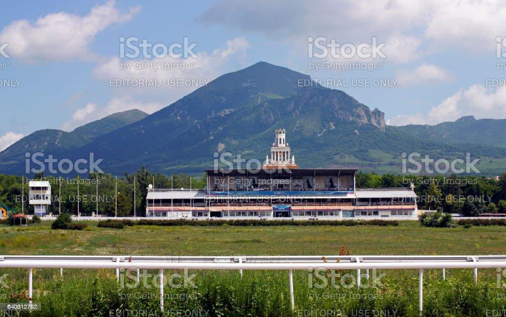 Racecourse in Pyatigorsk stock photo