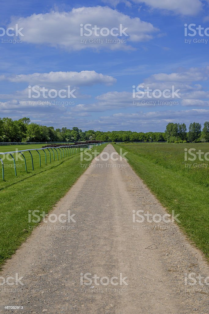 racecourse royalty-free stock photo