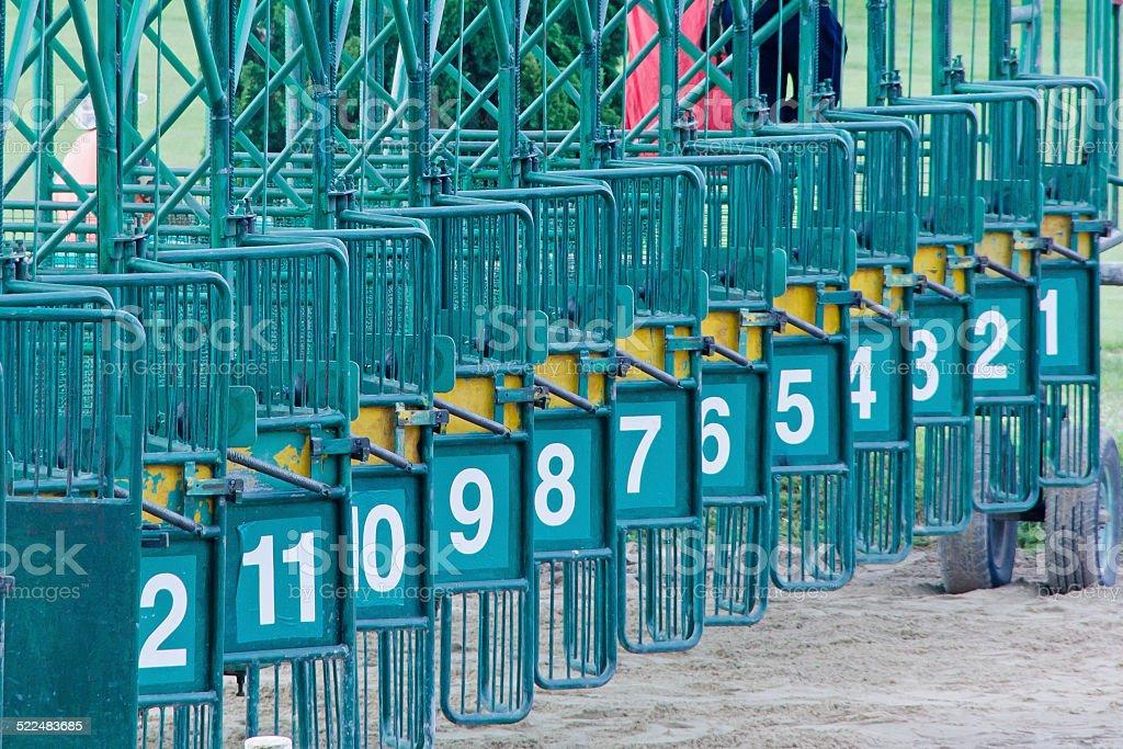 Racecourse Thailand stock photo