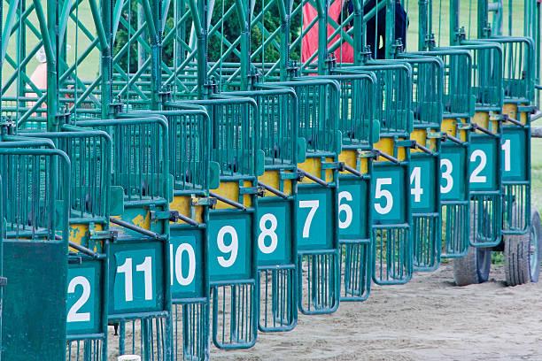 rennbahn thailand - scheuklappe stock-fotos und bilder
