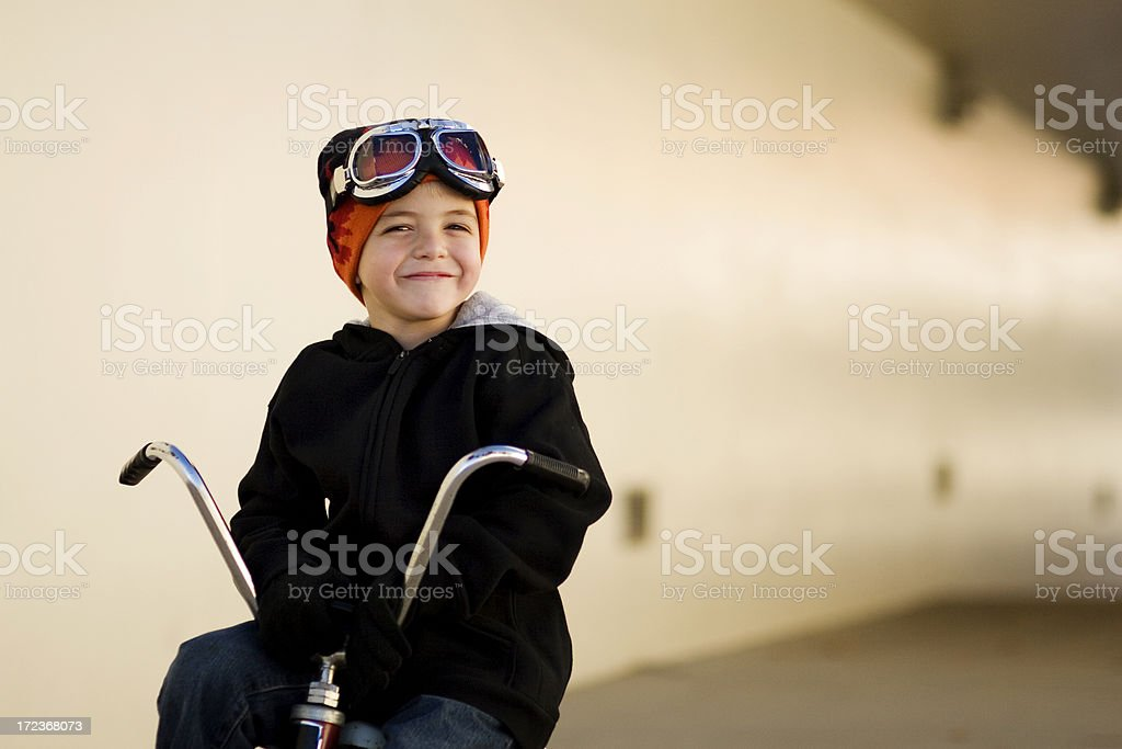 Racer junge Porträt – Foto