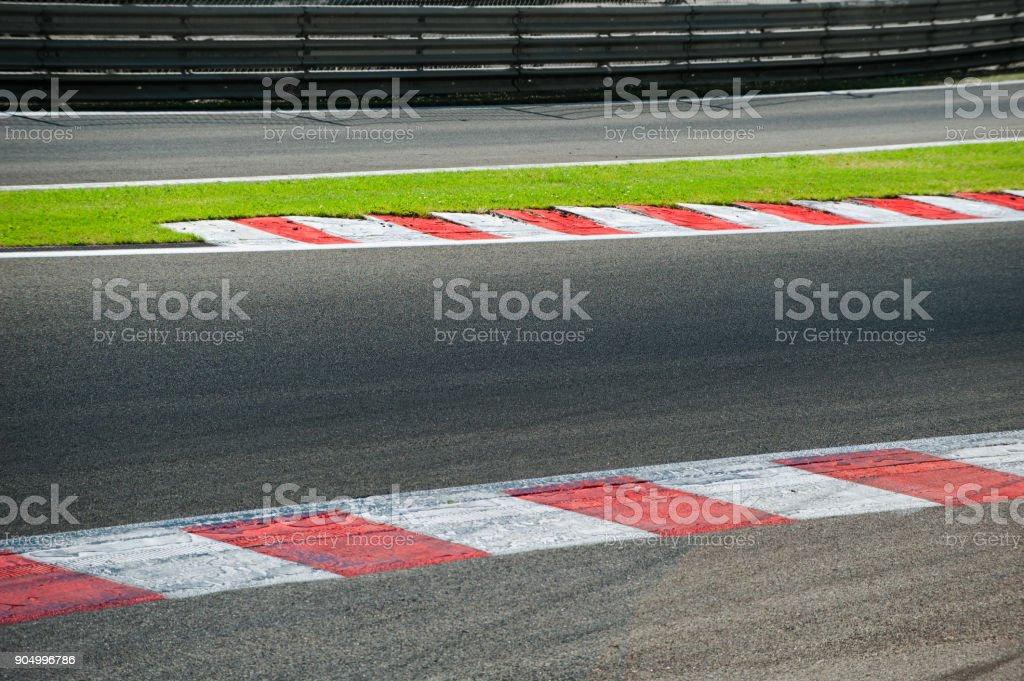 racetrack Lizenzfreies stock-foto