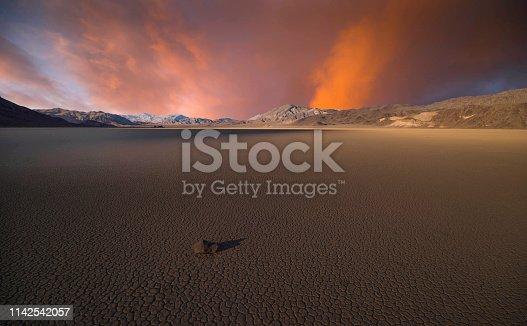 Stone - Object, California, Death Valley National Park, Desert, Racetrack Playa