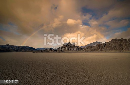 Stone - Object, California, Death Valley National Park, Desert, Racetrack Playa