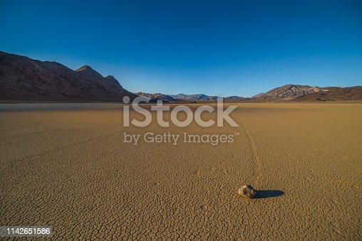 istock Racetrack Playa, Death Valley NP 1142651586