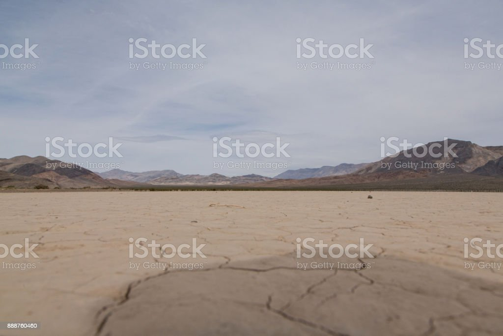 Racetrack Playa, Death Valley stock photo