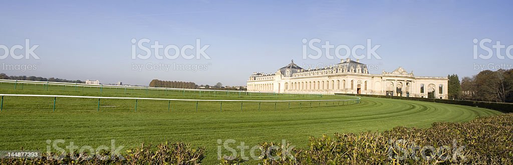 Champs de courses stock photo