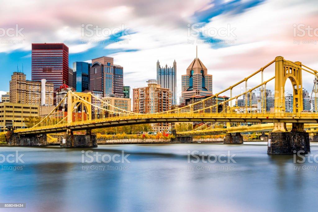 Rachel Carson Bridge stock photo