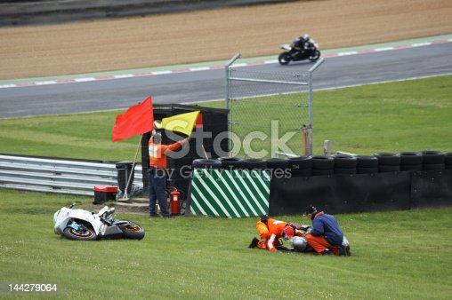 istock Racing accident 144279064