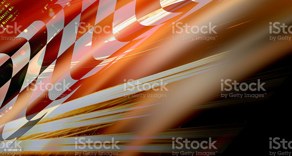 racing background stock photo