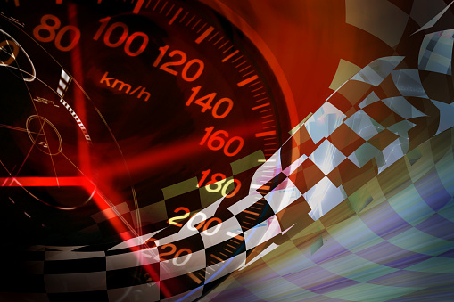 Racing Background Stock Photo - Download Image Now