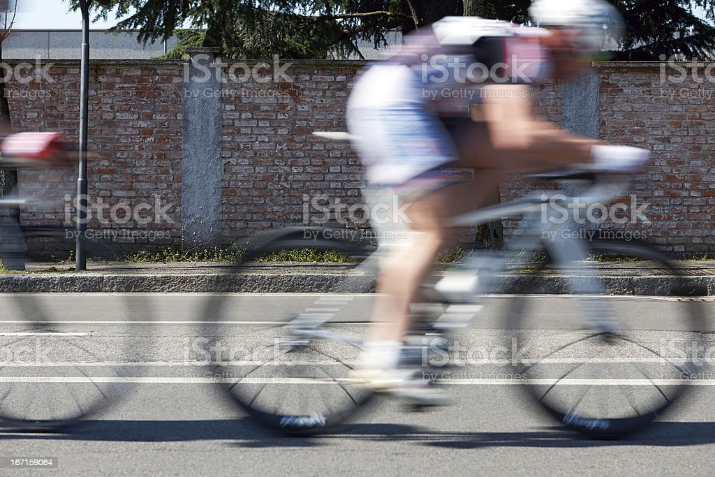 Racing Bike. Color Image stock photo