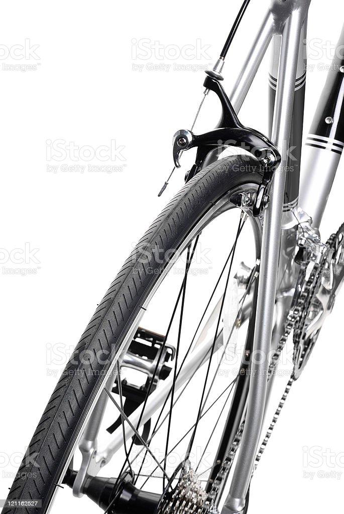 Racing bike detail royalty-free stock photo