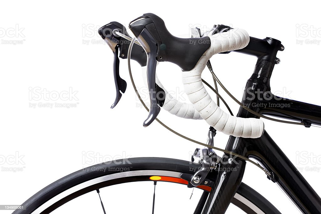 Racing bike stock photo